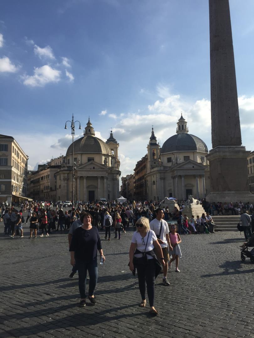 Travel agents from Snelgrove Travel checking out Rome, Italy
