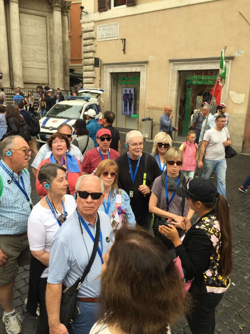 Snelgrove Travel Italy groups are small