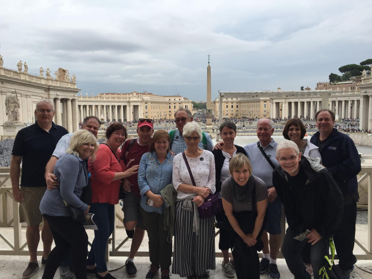 Snelgrove Travel Rome Tour group