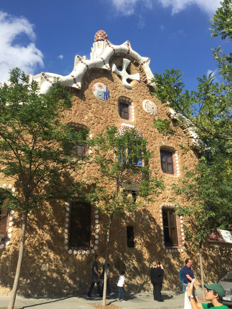 Snelgrove Travel favorite Gaudi Museum building in Barcelona