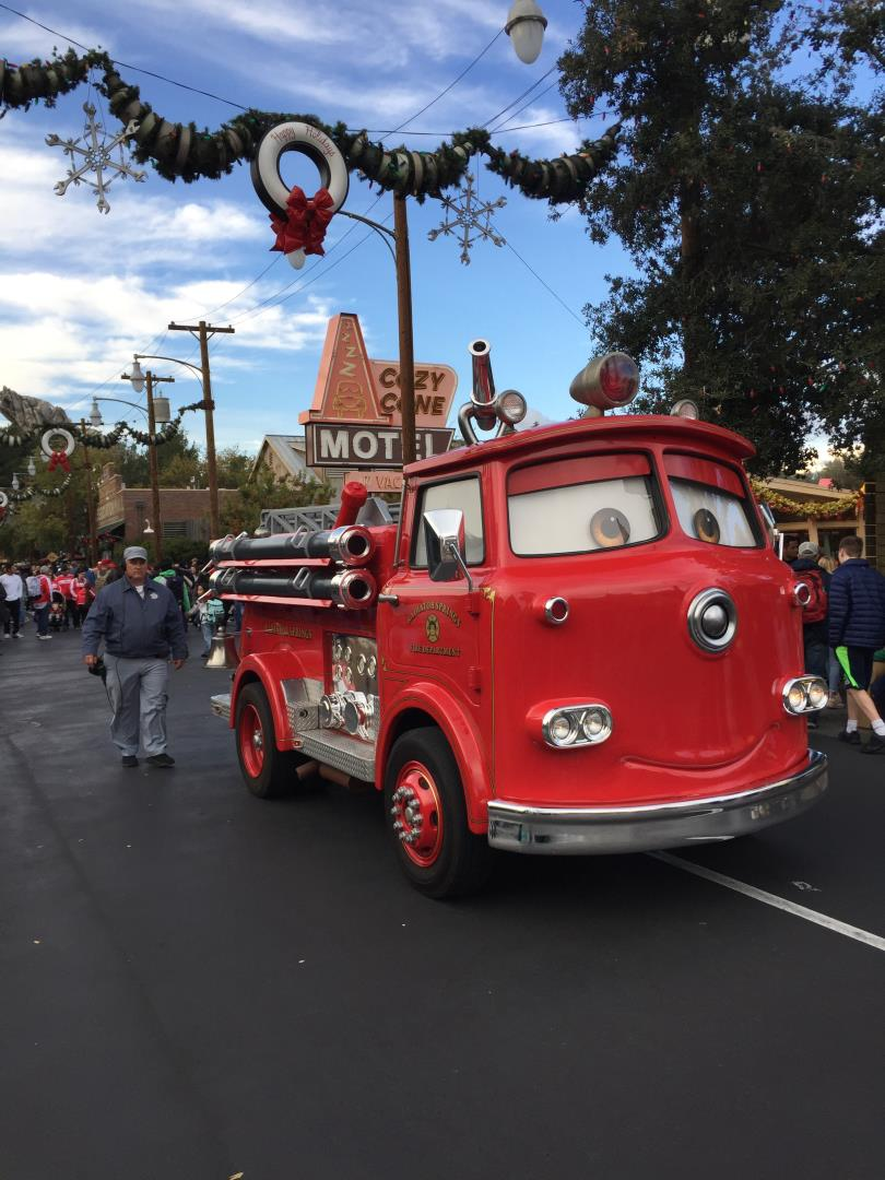 Cars Land at Disneyland with Snelgrove Travel agents