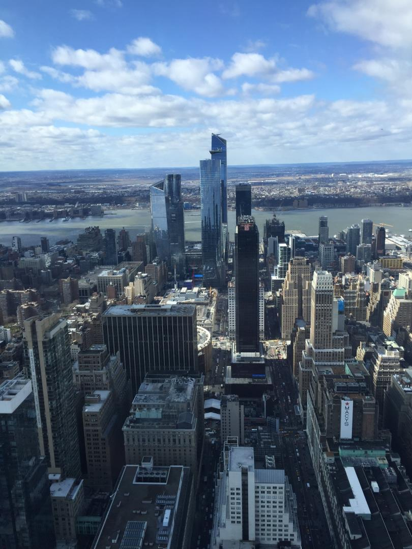 New York as seen from The Empire State Building by Snelgrove Travel agents