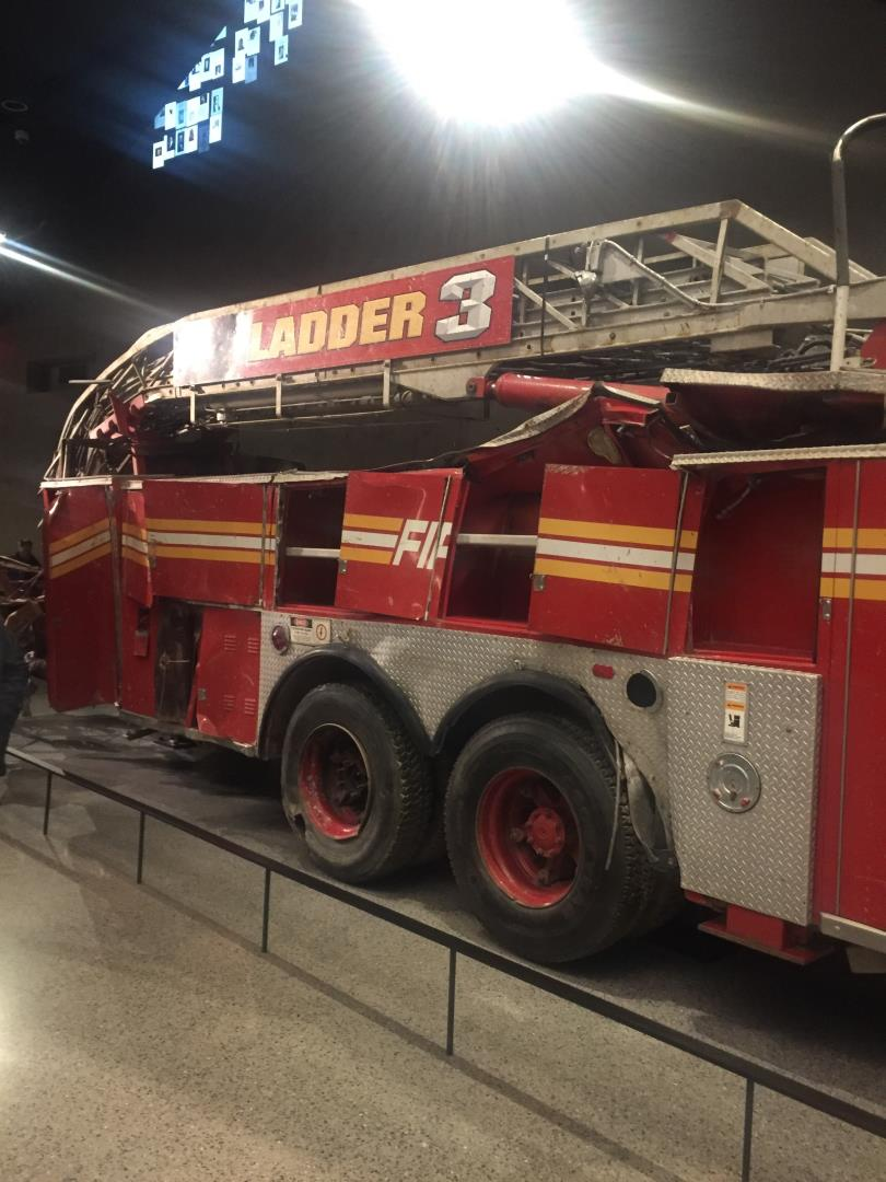 A glimpse of FDNY sacrifices at 9/11 Memorial visited by Snelgrove Travel.